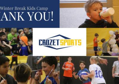 Thanks Winter Break Kids Camp